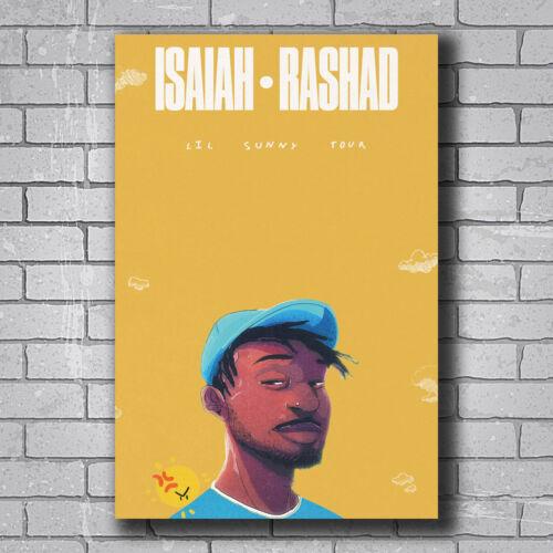 Isaiah Rashad New Silk Poster Custom Wall Decor