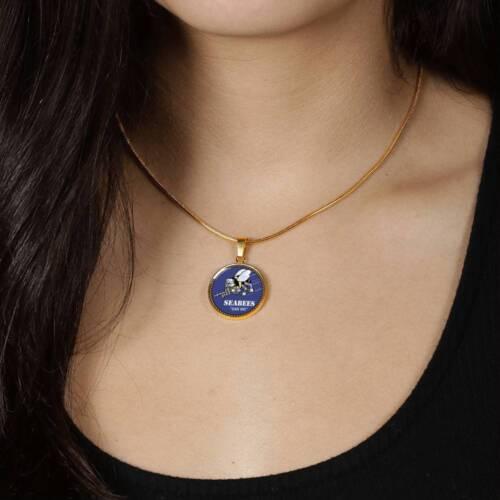 Seabee Pendant Necklace