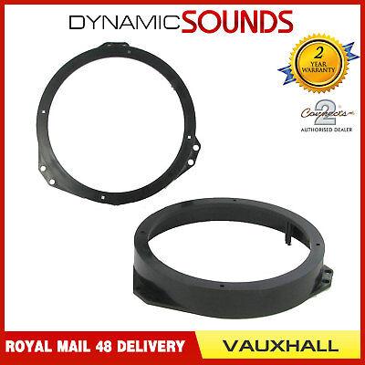 CT25VX01 165mm Front Door Speaker Adaptor Kit Ring For Vauxhall Meriva 2003-2010