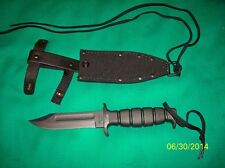 Ontario Knives ONSP2 Kraton / Rubber Handle Air Force Survival Knife