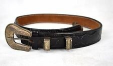 Alfonso's Hollywood Holster & Gun Shop Black .925 Sterling Silver Buckle 27