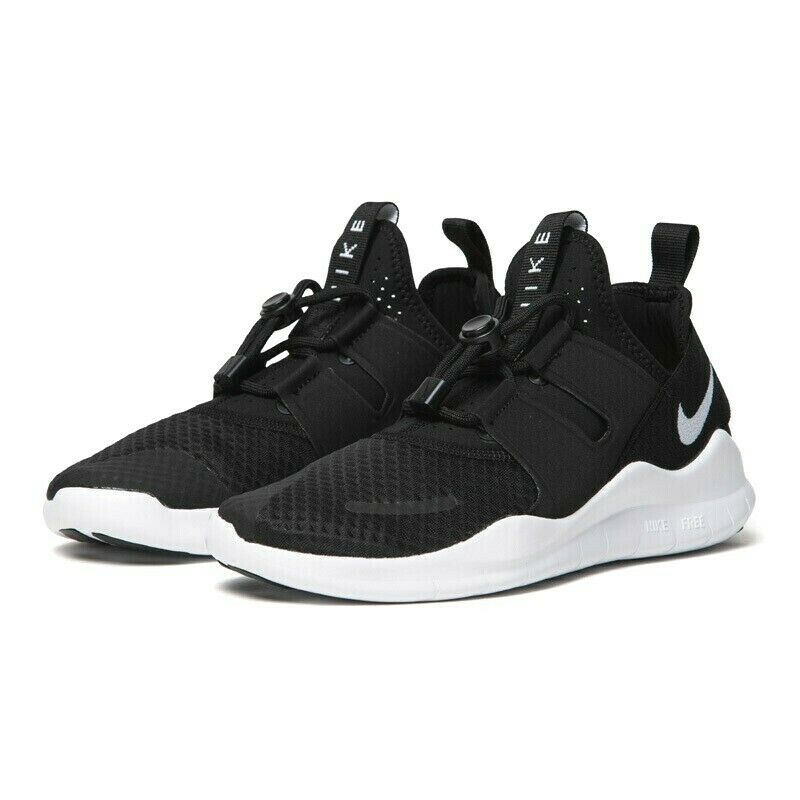 NIKE Free RN Commuter 2018 Running shoes Black White AA1620 001 Mens Sizes NEW