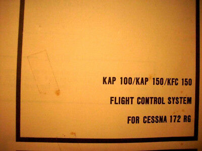 KAP 100 KAP 150 KFC 150 In Cessna 172RG Install Adjust Manual EBay