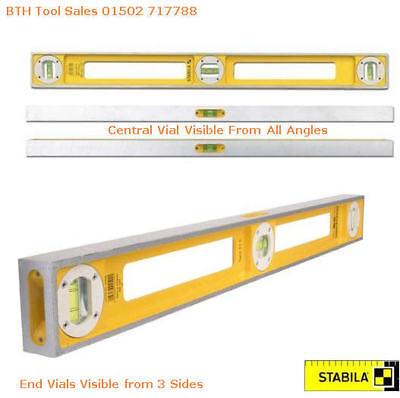 "Stabila 83S 1m//40/"" Double Plumb Girder Builders Construction Spirit Level"