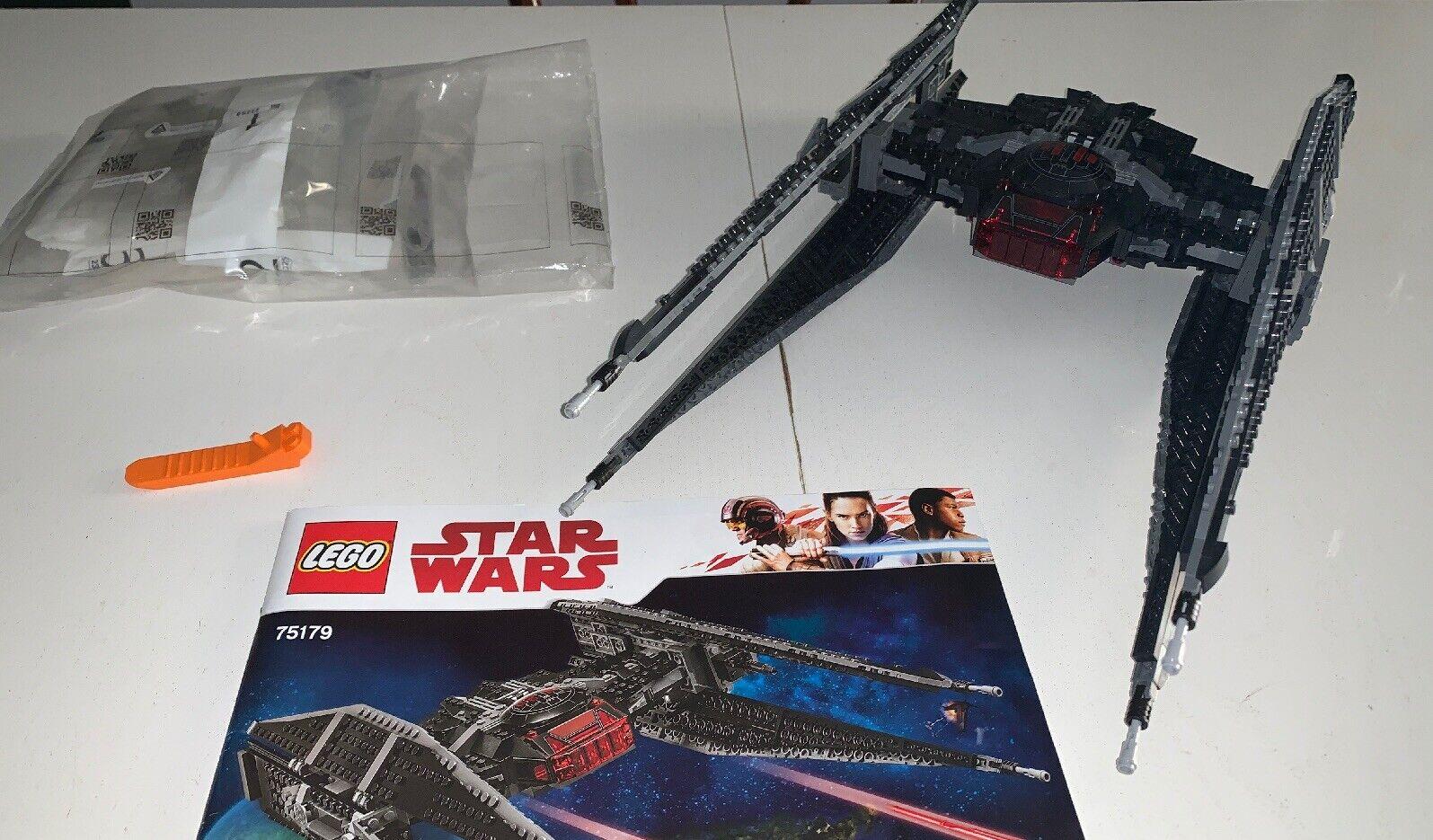 LEGO 75179 estrella guerras  USATO NO MINIcifraS  NO SCATOLA  nessun minimo