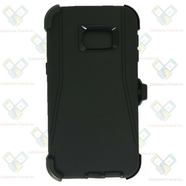 best service 8b13a 3db16 For Samsung Galaxy (S6 Edge Plus) Case (Belt Clip Fits Otterbox Defender)  BLACK
