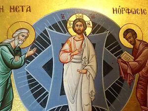 Ikone Verklärung Jesus icon icone икона icono Ikona Transfiguration Jezus