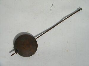 Ancien Gros Balancier Pendule Pendulette, Diam 5,5 Cm, Long 22 Cm, Poids 183 Gr SuppléMent éNergie Vitale Et Nourrir Yin