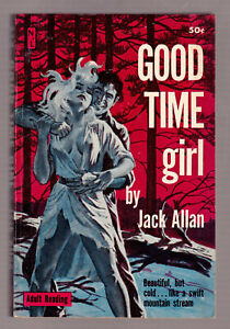 Good-Time-Girl-J-Allan-vintage-1960-Newsstand-U148-PB-GGA-sex-sleaze-EX-cond