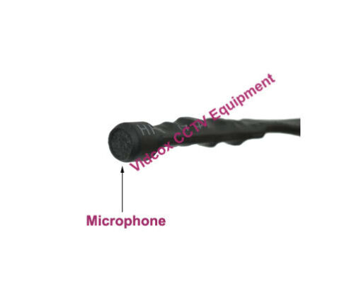 Spy Hidden Mini Audio CCTV Microphone Mic DC 12V CCTV Security Camera DVR System
