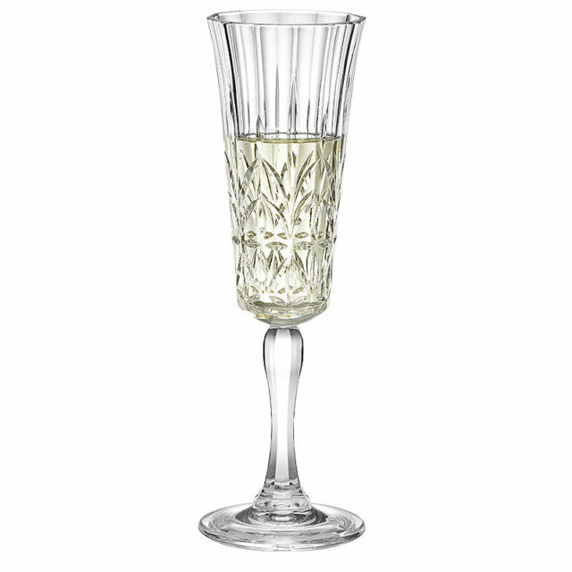 Lakeland Crystal-Look Acrylic Champagne Prosecco Flute