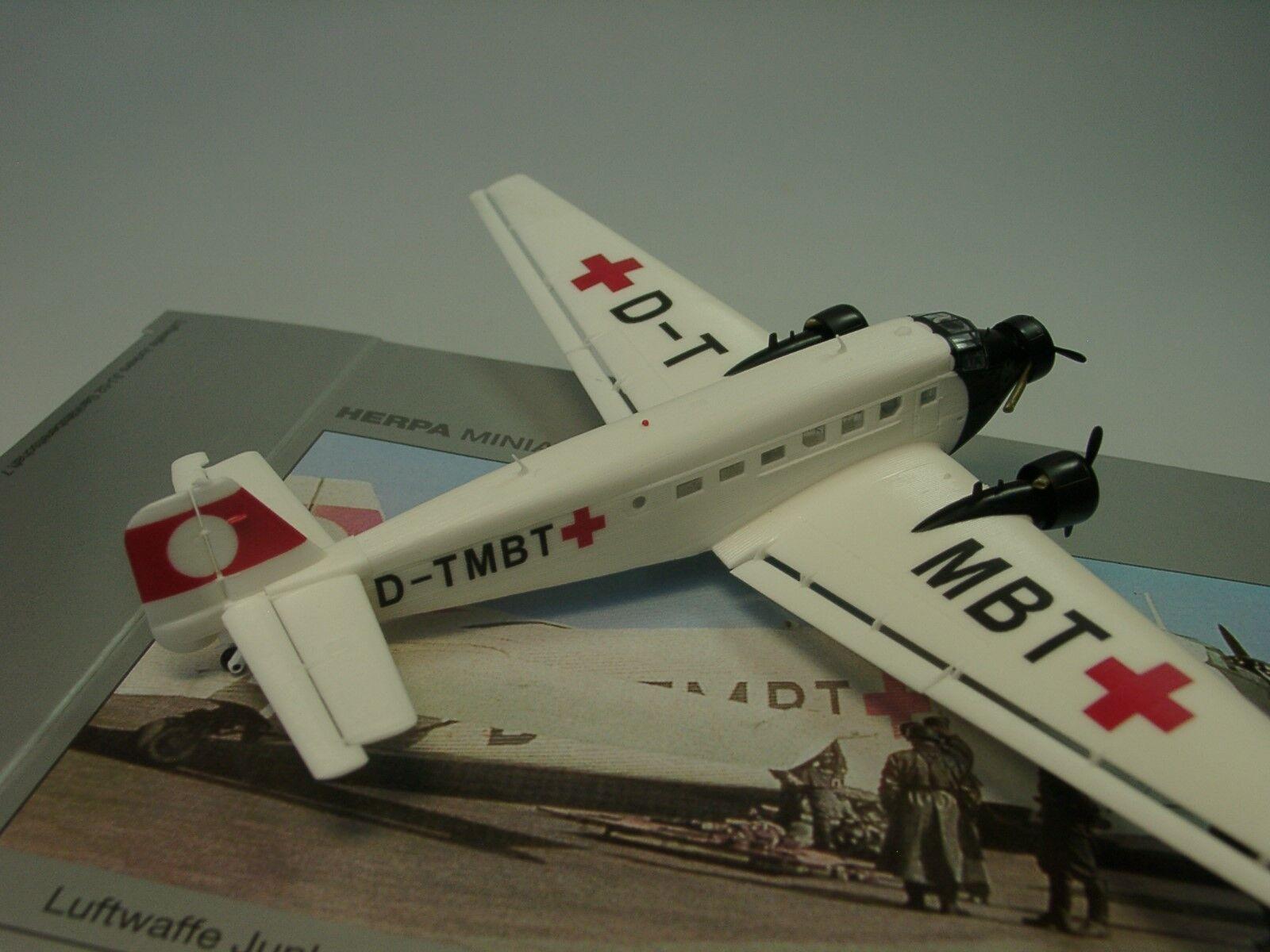 HERPA wings Junkers ju-52 sanitätsbereitschaft 7 7 7 - 019132 - 1 160 b884a7