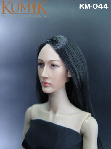 "KUMIK Maggie Q Nikita 1//6 Head Sculpt for 12/"" PHICEN Hot Toys femelle U.S.A."
