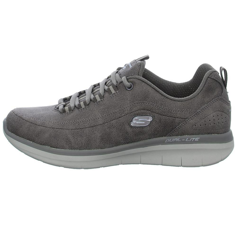 shoes Skechers Synergy 2.0-Comfy Up  Brown Women