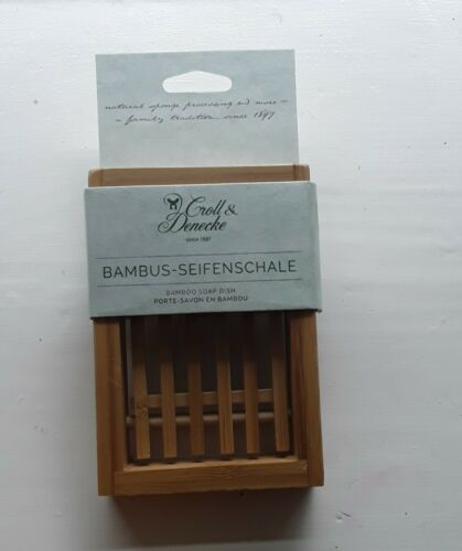 Bamboo Soap Dish Eco-Friendly Zero-Waste