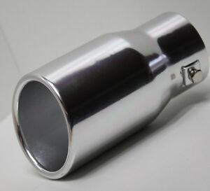 Auspuffblende-Aluminium-Auspuff-Endrohr-Blende-zum-Anschrauben-ALU-rund-78mm