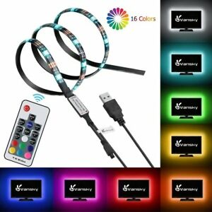 3M-5V-RGB-LED-STRIP-LIGHT-COLOUR-CHANGE-USB-KIT-BACKGROUND-LIGHTING-TV-PC-LAPTOP
