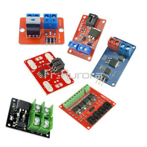 1-4-Channel-1-4-Route-MOSFET-Button-IRF520-IRF540-MOSFET-Current-Switch-Module