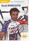 CYCLISME carte cycliste DAVID MONCOUTIE équipe COFIDIS 2003 signée