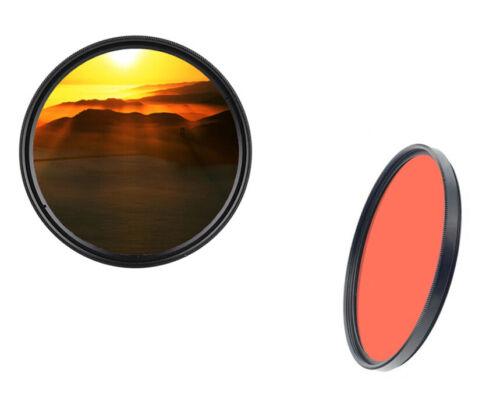 dHD DIGITAL Marken 82mm Farbfilter orange Full Filter Markenfilter 82 mm