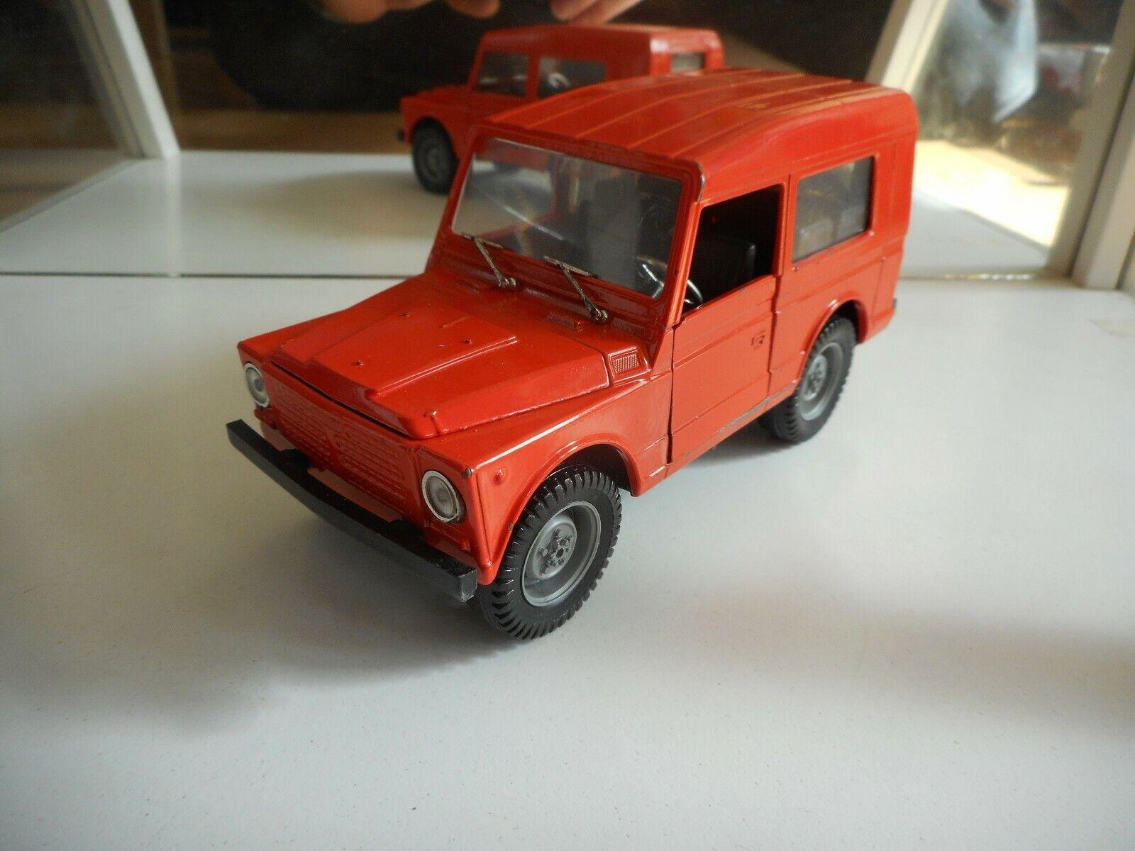 Polisil Fiat Campagnola i orange på 1 25