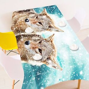 3D-Animals-Tablecloth-Table-Cover-Cloth-Birthday-Party-AJ-WALLPAPER-UK-Lemon
