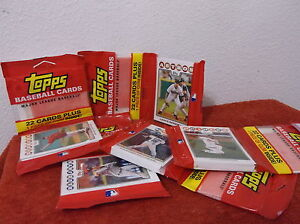 Details About New 2008 Topps 22 Card Sealed Pac Of Baseball Cards Gumlot Of 2 Packs