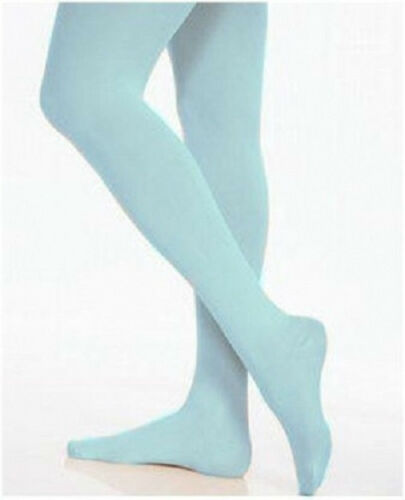 Mondor 345 Coppen Blue Child/'s Size Large 10-12 Full Footed Tights