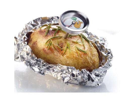 bis 99 °C Westmark Kartoffelthermometer 2 Stück Set  für Folienkartoffel Temp