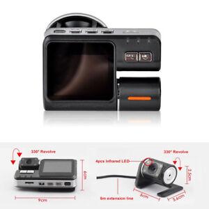 HD-Car-DVR-Dash-Cam-Video-Recorder-Kit-With-Rear-View-Camera-Night-Vision-Sensor