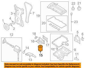 MAZDA OEM 06-15 MX-5 Miata Engine-Oil Filter LF0514302B