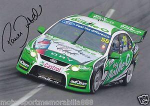 Paul-Dumbrell-Signed-6x4-or-8x12-Photo-PRINT-V8-Supercars-FORD-FPV-FPR-BOTTLE-O