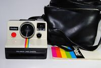 Polaroid Land Camera OneStep Rainbow w/ Manual