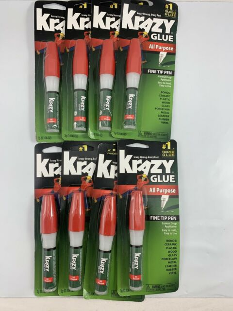 Pack of 3 All Purpose Pen 0.106 Ounce Krazy Glue Instant Crazy Pen