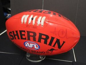 Richmond-Trent-Cotchin-Brownlow-Winner-signed-Red-soft-touch-sherrin