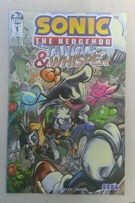 Sonic The Hedgehog Tangle Whisper 1 Ri 1 10 Skelly Cover Ebay