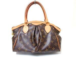 5801eacd93b Authentic LOUIS VUITTON Monogram Tivoli PM M40143 Handbag VI5101 w ...