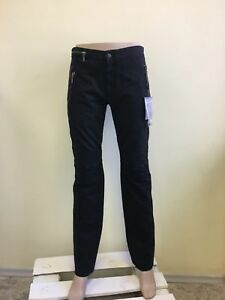 Alexander-McQueen-women-039-s-pants-black-Sport-IT46-NWD