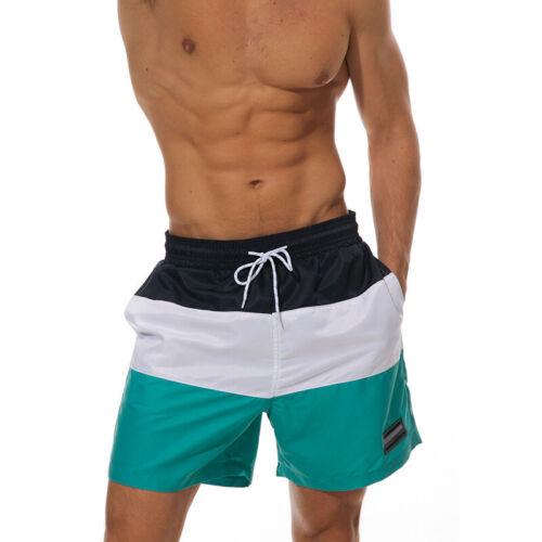 TACVASEN Mens Swim Shorts Jogging Beach Pants Stripe Board Shorts Surfing Trunks