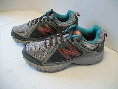 Women's NEW BALANCE 510v2 Running Shoe US Sz 7M EUR 37.5 UK 5 Gray/Mint/Orange | eBay