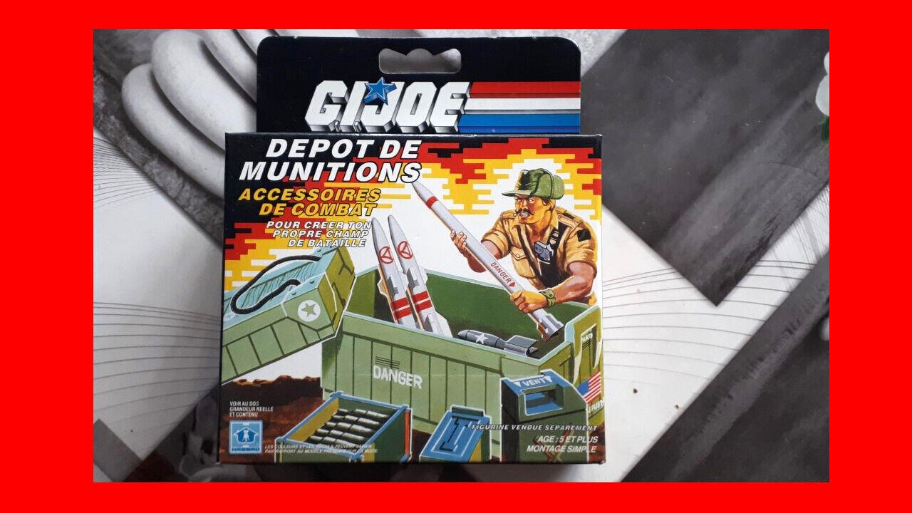 G.I.JOE   GI JOE Ammo Dump Unit   Dépot de munitions