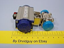 Vne Pn63sr 1 Stainless Steel Pneumatic Actuator With Ball Valve