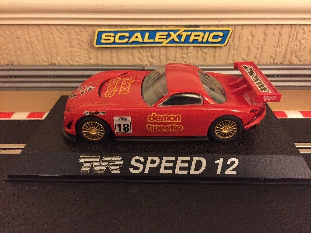 Scalextric TVR Speed 12 Demon Tweeks No.18 C2209 Brand New Boxed