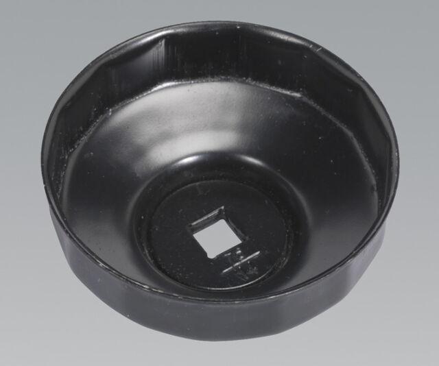 Sealey VS7006.V2-06 Tapa Filtro de Aceite Llave Ø76mm X 14 Canales