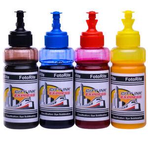 Details about Dye sublimation ink refill set fits Epson EcoTank range free  custom ICC profile