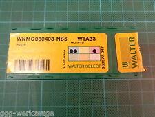 8 x Walter WNMG 080408 - NS5; WTA33; HC-P10; ISO B; NEU & OVP