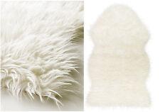 Ikea Tejn faux sheepskin super soft WarmCozy Area Rug white eBay