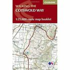 Cotswold Way Map Booklet: 1:25,000 OS Route Mapping by Cicerone Press (Paperback, 2016)