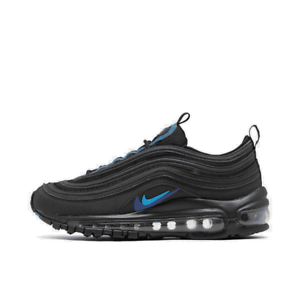 Big Kids/' Nike Air Max 97 Casual Shoes Black//Blue CT6025 001