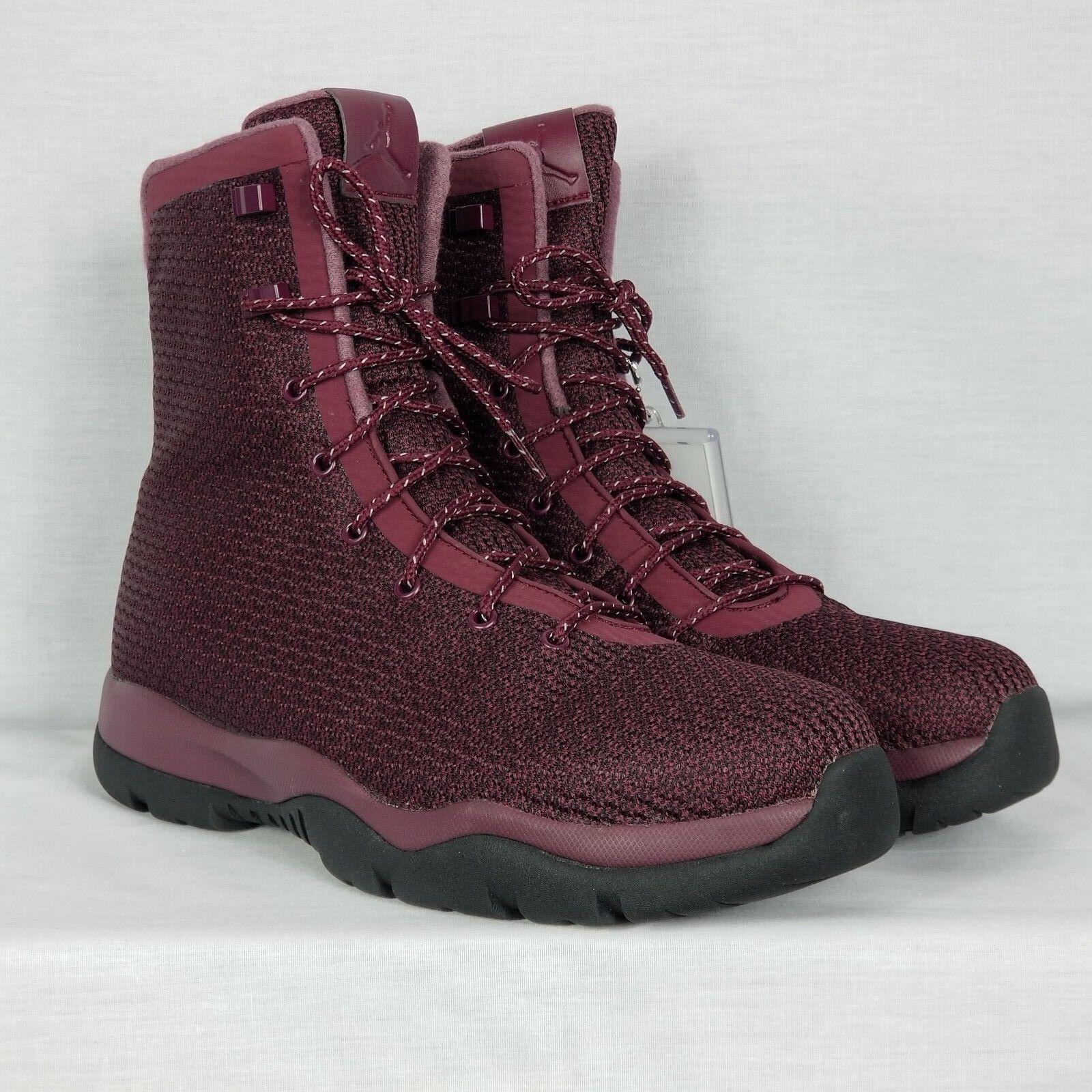 Nike Air Jordan Future Boot Sz 12 Night Maroon Burgundy Red Black 854554-600 Great discount